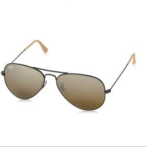 Authentic Ray Ban Aviator Sunglasses unisex Italy